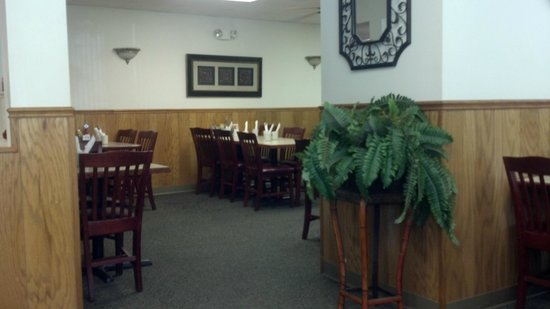 More seating inside Spring Garden Family Restaurant