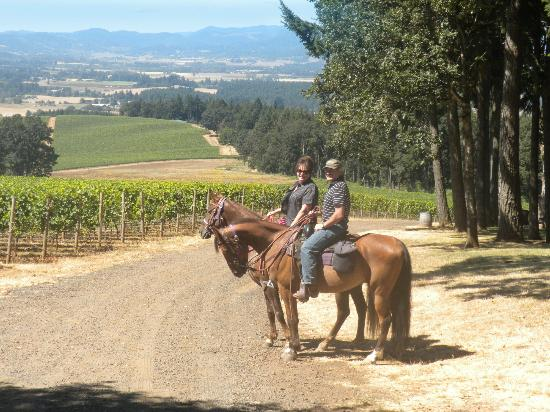 Wine Country Farm: A WONDERFUL ride through the vineyards!