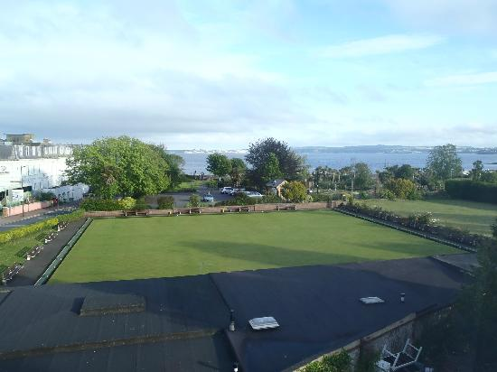 Grosvenor Hotel Torquay: view from one of the windows