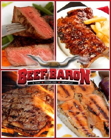 Beef Baron Restaurant: Steak & Seafood