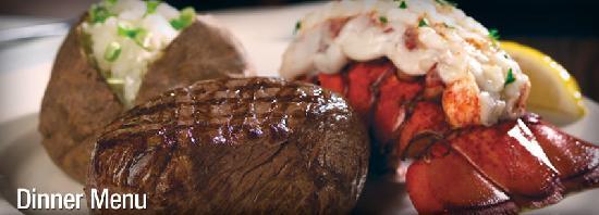 Beef Baron Restaurant: Surf & Turf