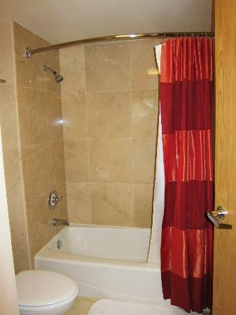 Fountaingrove Inn: shower/tub
