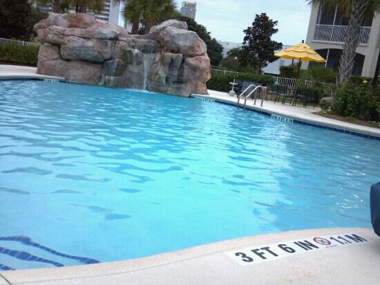 Lagoon Pool And Pool Bar Picture Of Holiday Inn Club Vacations South Beach Resort Myrtle