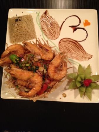 Bangkok Thai Cuisine: Bangkok pepper shrimp
