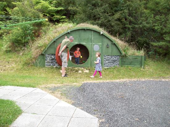 Within The Bays: Hobbit play house