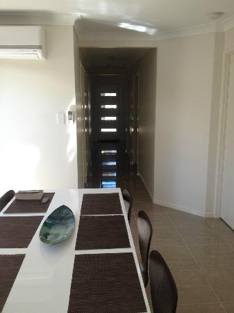 21 on Hursley Motel Apartments: Front Entrance (view from kitchen)