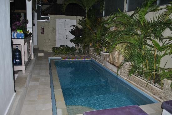 Bermimpi Bali Villas: Piscina privata Orchid
