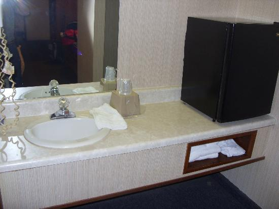 Pine Acres Lodge: sink