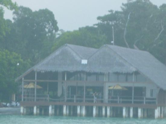 Lope Lope Lodge: Poor quality pic of Lope Lope Lodge - Slipway Bar & Grill 