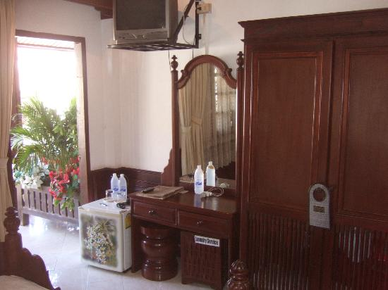 "Luang Prabang Bakery Guesthouse: ""Far"" balcony room (Room#5?)"