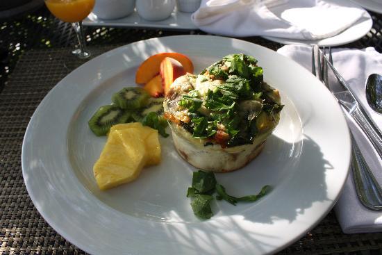 Chateau de Vie: Frühstück