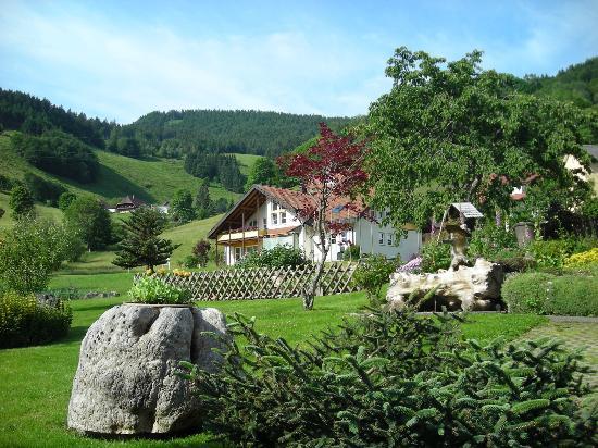 Haus Erika: il giardino