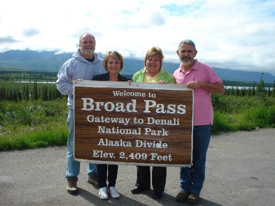 Denali Princess Wilderness Lodge: Entry to Denali National Park