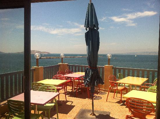 Hotel Richelieu: Petit déjeuner sur la Terrrasse