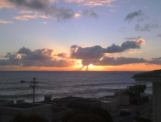 51 On Camps Bay Guesthouse: sunset from 51 on Camps Bay