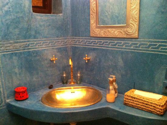 Riad Aladdin: Baño
