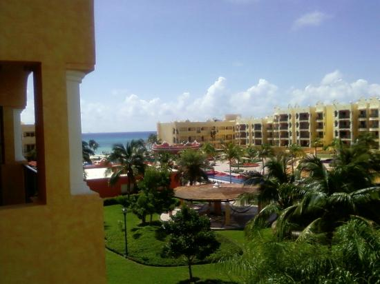 The Royal Haciendas, All Inclusive, All Suites Resort: View of Resort from the villas ( rooms)