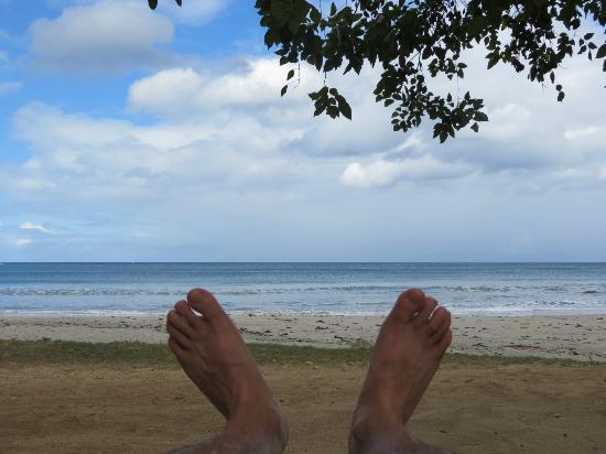 Tamarina Golf & Spa Boutique Hotel: Vue de la plage