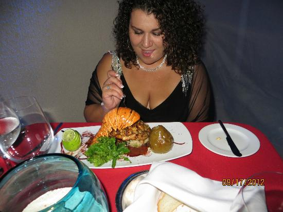 Live Aqua Cancun All Inclusive: Lobster tail was awesome!
