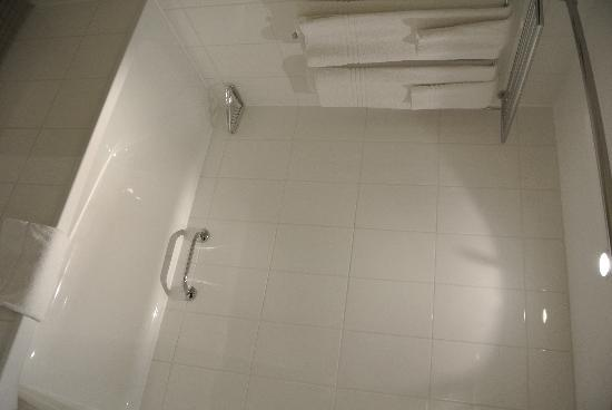 Renaissance Amsterdam Hotel: Nice tub and shower