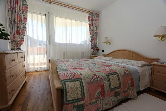 Residence Catarina Lanz: Camera matrimoniale