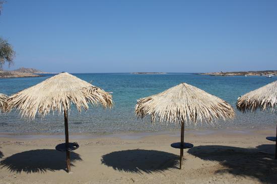 Contaratos Beach Hotel: La plage du Contarados Beach