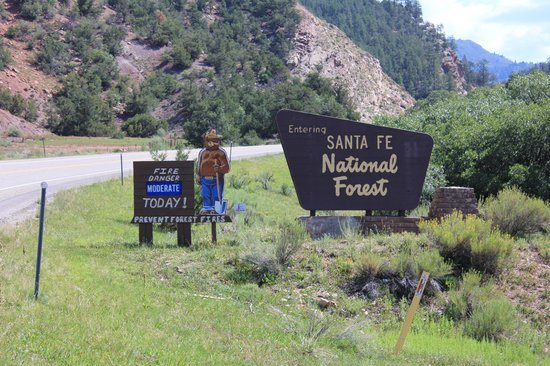 Cuba, NM: Santa Fe National Forest