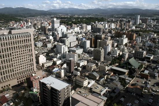 Hotel Nikko Kanazawa: 金沢市街-部屋からの眺め