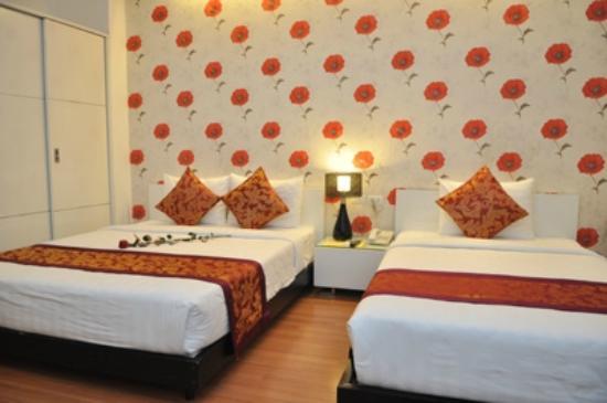 Hanoi Legacy Hotel Hoan Kiem: Deluxe Twin
