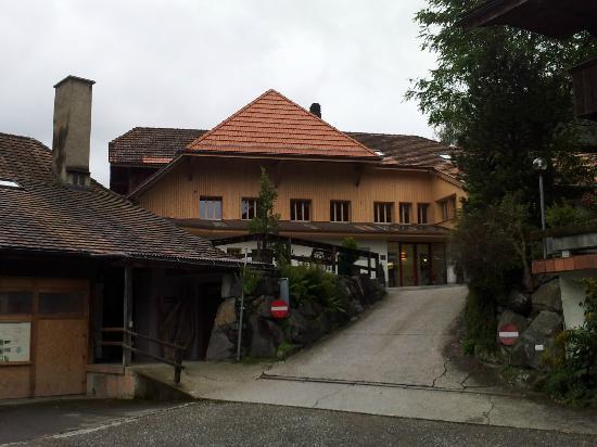 Hotel Appenberg: Auffahrt zum Hotel, Haupthaus