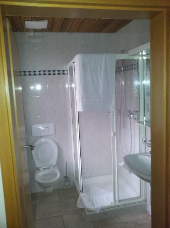 Hotel Appenberg : Badezimmer