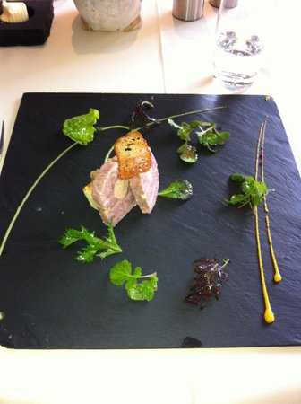 Restaurant du Schild: excellent creation for starter
