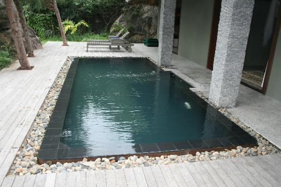 L'Alyana Villas Ninh Van Bay: Plunge pool at villa