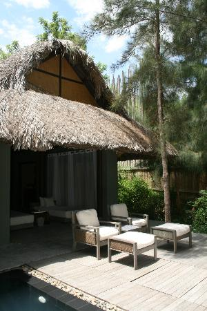 L'Alyana Ninh Van Bay: Front of our villa