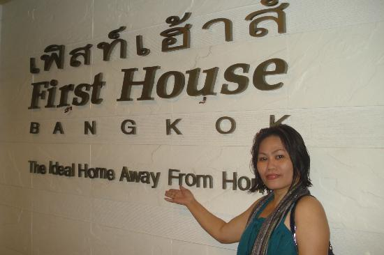 First House Bangkok: hotel name