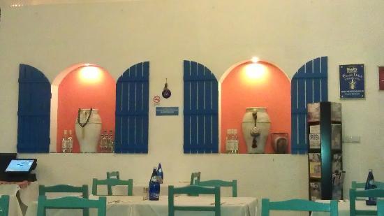 ShangHai Greece Restaurant (Hong Mei Road): cheerful interior