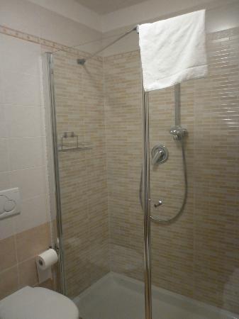 Hotel Al Sole: Bagno: particolare della doccia