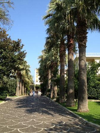 Grand Hotel Parco Del Sole: алея к выходу