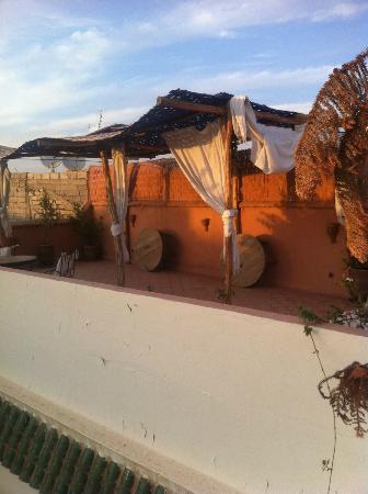 Riad Al Faras: Roof terrace