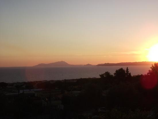 Villa Patrizia B&B: Sunset
