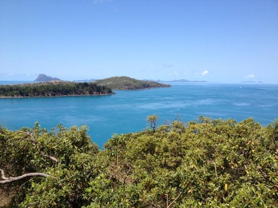 Hamilton Island Golf Club: view from our lunch table