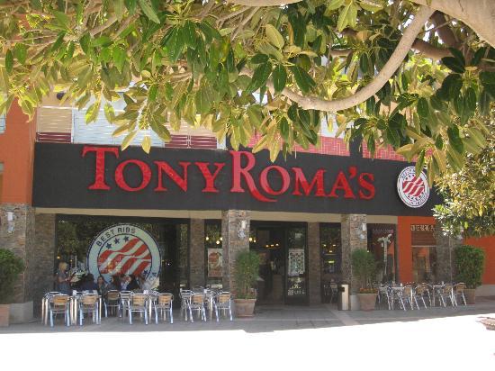 Tony Roma's Valencia : Tony Roma's Heron City· Paterna · Valencia (fachada)