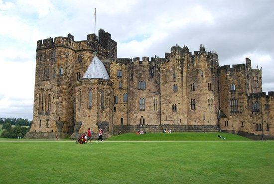 Alnwick, UK: Замок
