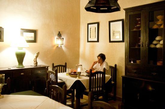 Palais Oumensour: Sala ristorante