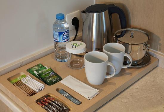 Dedeman Park Denizli Tea Coffee Set Up