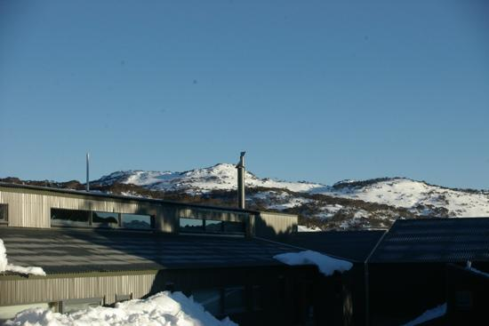 The Stables Perisher: view from balcony