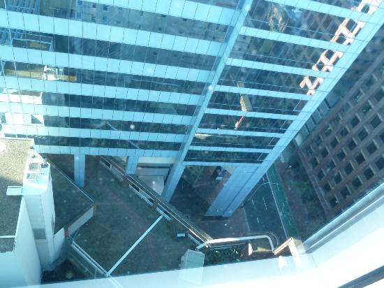 แมนทราออนเค้นท์: Looking down to Kent Street from the 21st floor