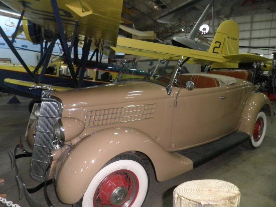 New England Air Museum: Take the Honey for a spin in this baby.