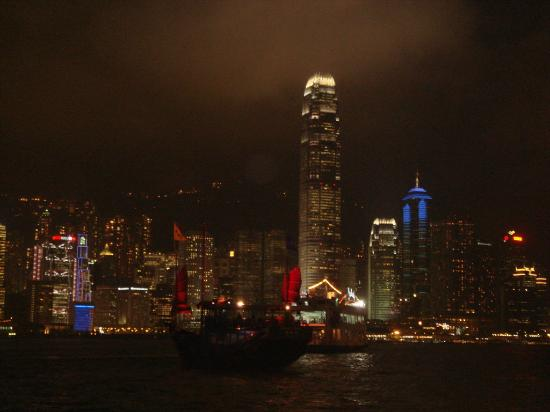 The Cityview Hong Kong: Hong Kong by night...