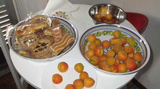 B&B Tower' s Garden : fresh fruit for breakfast - divine!